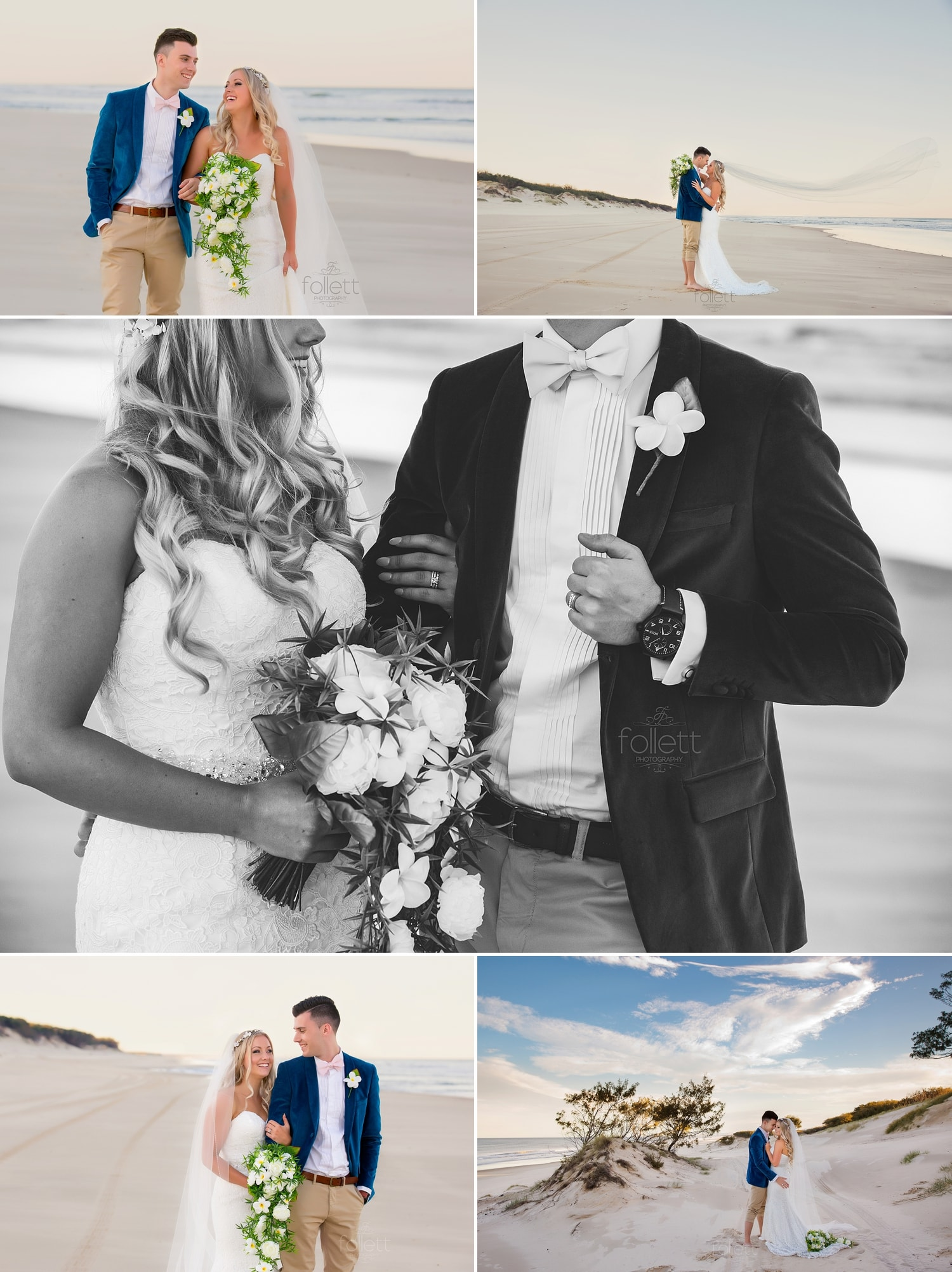 Gold Coast Beach Wedding Photography