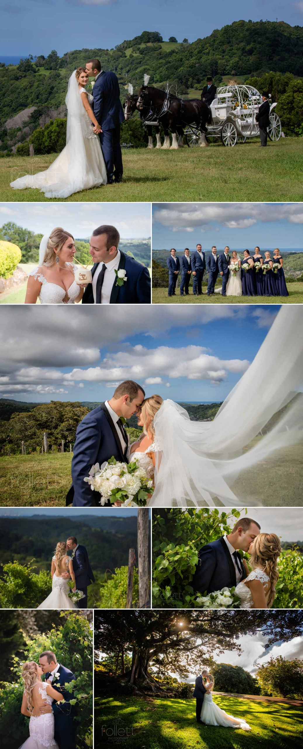 Wedding Photos at Summergrove Estate by Follett Photography