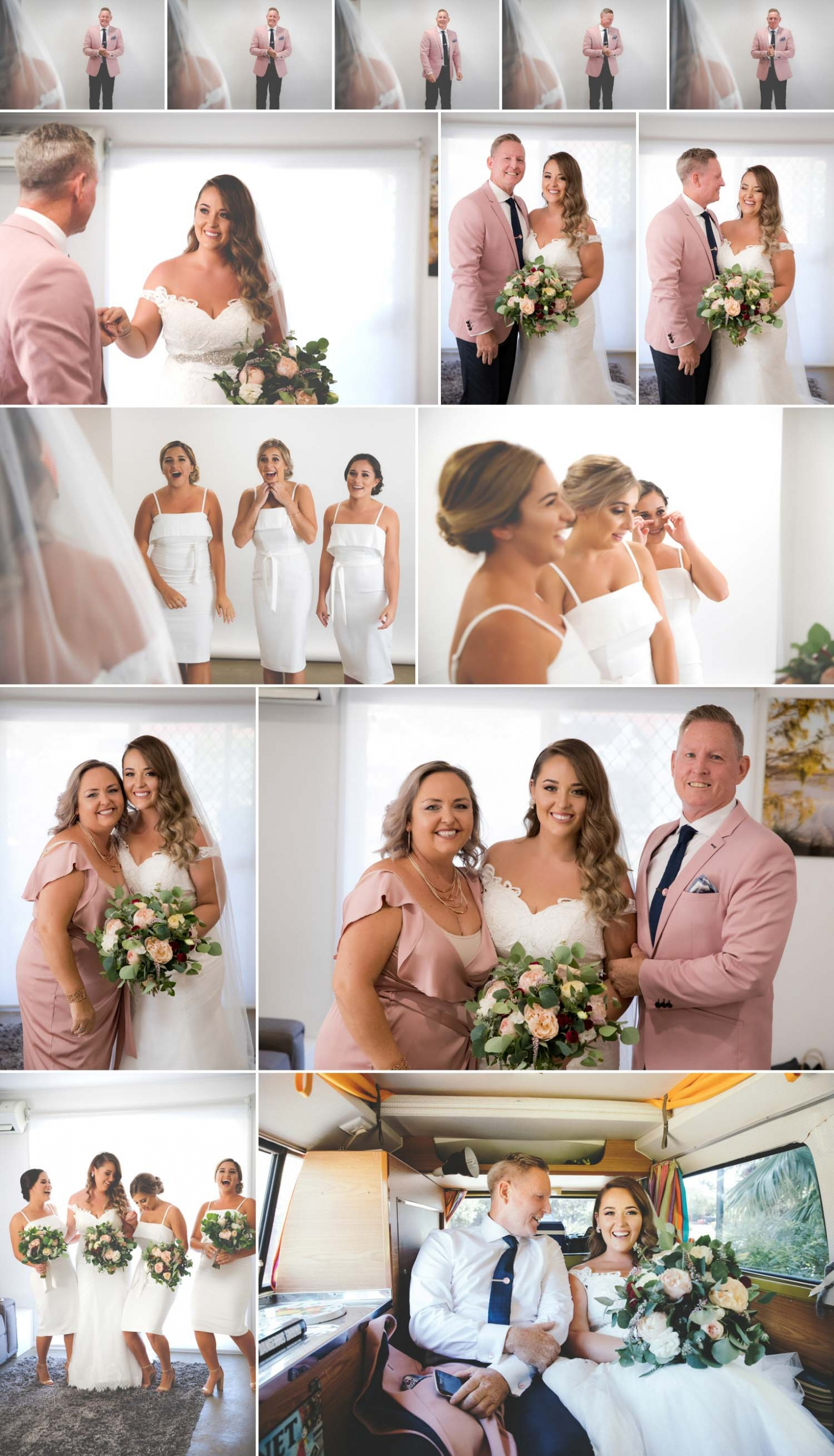 Bride preparation photos for a Gold Coast wedding
