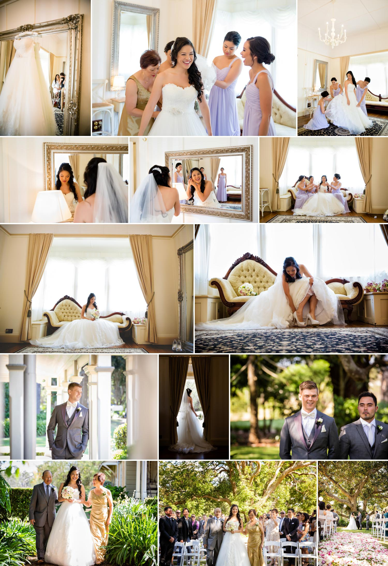 Wedding at Gabbinbar Homestead